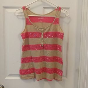 Sparkle Striped Tank